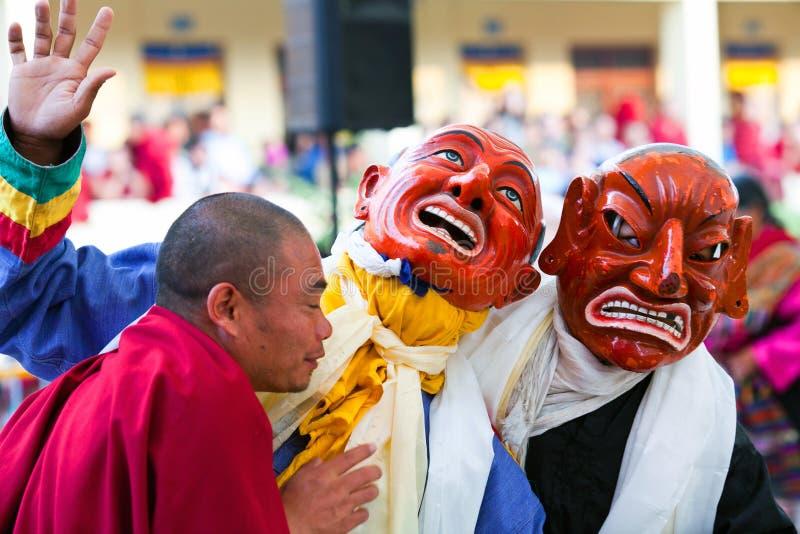 Cham tajemnica, Nepal obrazy stock