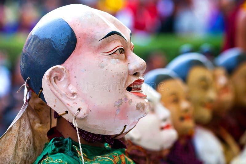 Cham tajemnica, Nepal zdjęcia royalty free