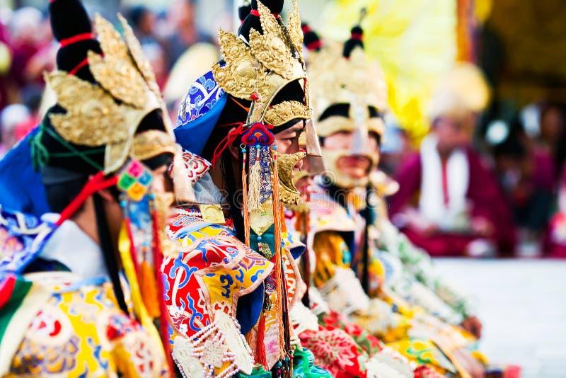 Cham tajemnica, Nepal zdjęcia stock
