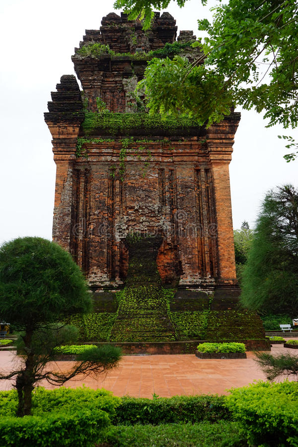 Cham wierza na Nhan górze zdjęcie stock