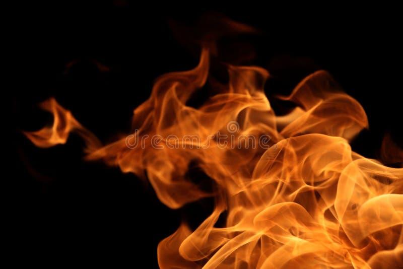 chama de queimadura no fundo escuro para a finalidade abstrata do projeto gráfico imagens de stock royalty free