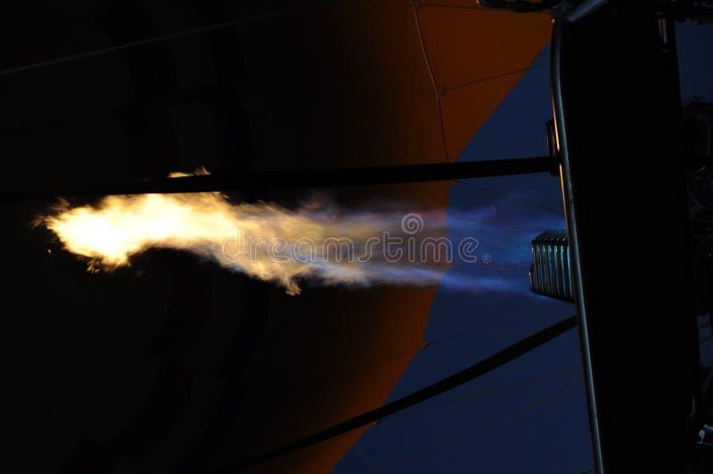 Chama do balão do gás de ar quente fotos de stock royalty free