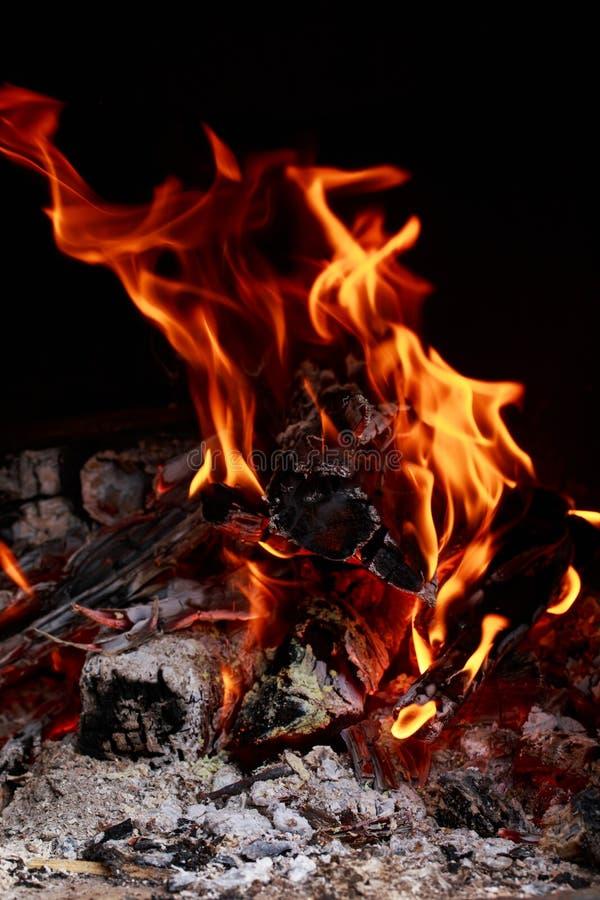 Chama do fogo do fogo imagens de stock royalty free