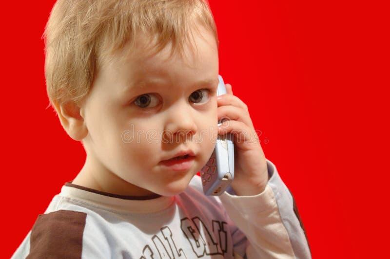 Download Chamada à mamã foto de stock. Imagem de vermelho, miúdo - 50404