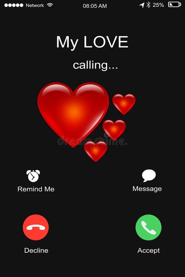 Chamando minha amor, homem ou fêmea recebendo uma chamada do seu/seu soldado foto de stock royalty free