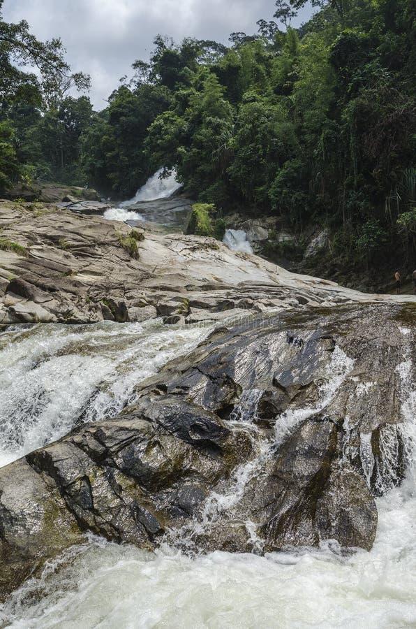 Chamang siklawa, Bentong, Malezja obraz stock