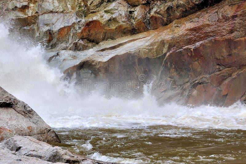 Chamang Waterfall royalty free stock photo