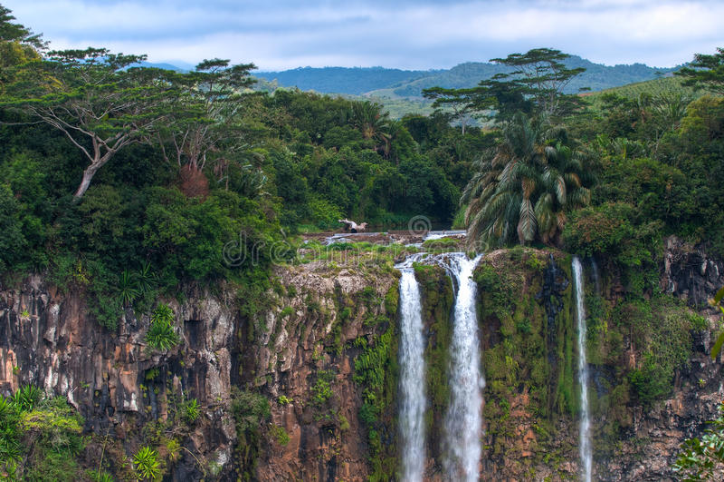 chamarel Маврикий стоковое фото rf