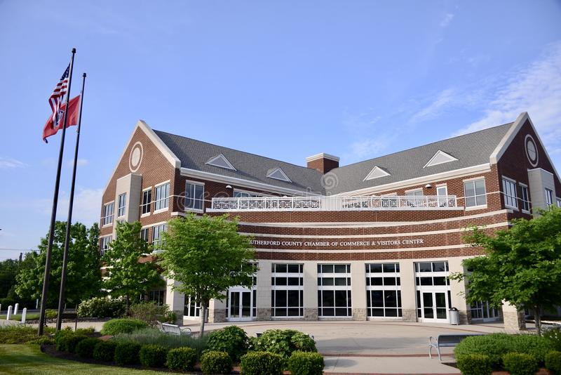 Rutherford County Tennessee Visitors Center, Murfreesboro royalty free stock photography