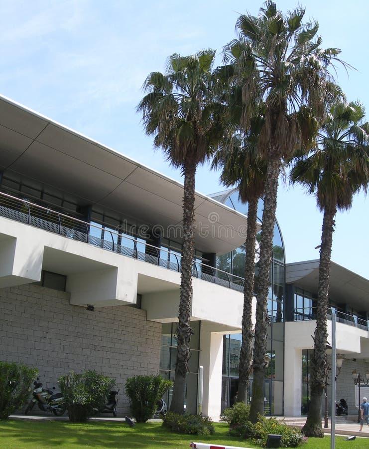 Chamber Commerce Terminal Ajaccio Royalty Free Stock Photos