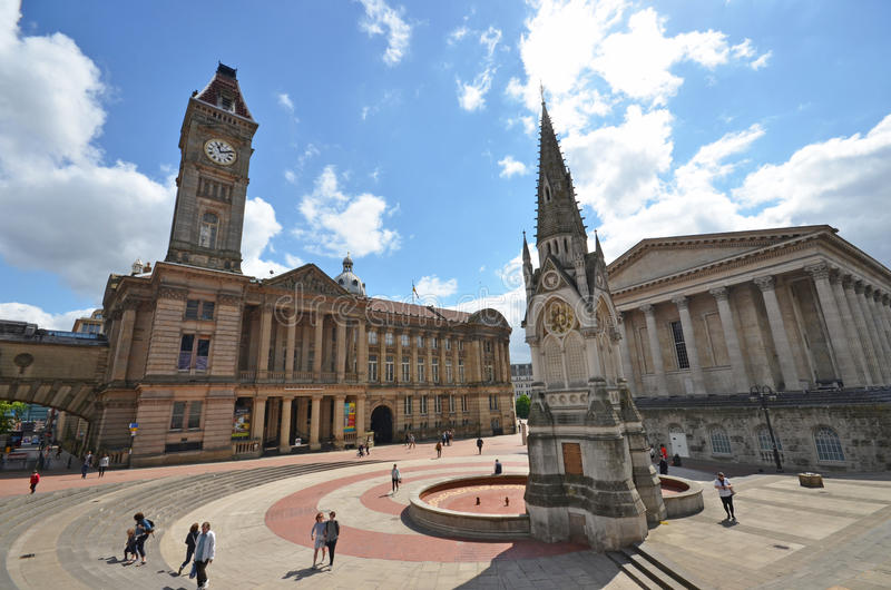Chamberlain Square royalty free stock photography