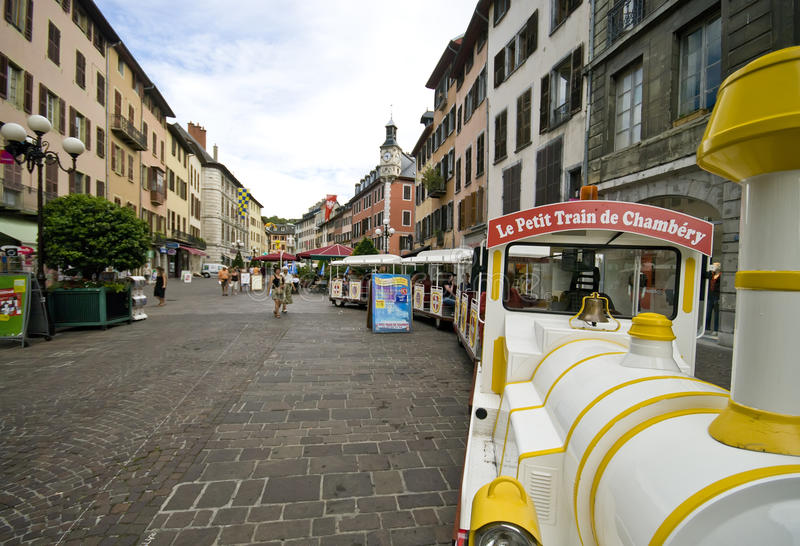 Chambery France Editorial Stock Image