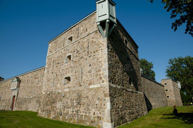 Chambly堡垒-魁北克-加拿大 免版税图库摄影