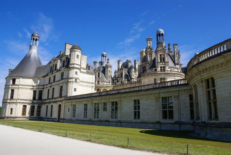 Chambord城堡位于卢瓦尔谢尔省,法国。它有一ver 免版税库存图片
