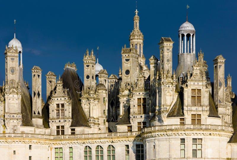 chambord замока стоковые изображения