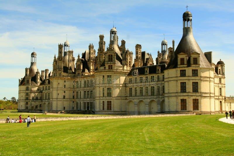 chambord замока стоковая фотография
