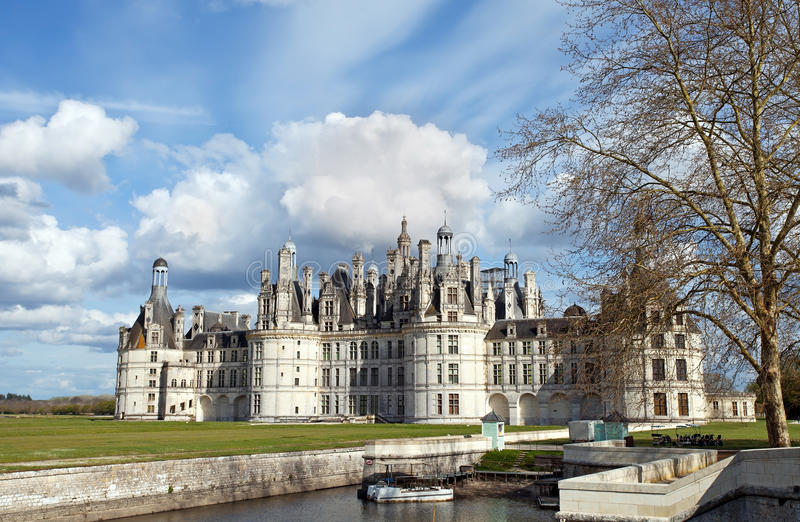 Download Chambord stock photo. Image of chateau, stairway, monument - 24958984