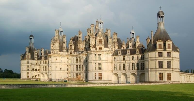 Chambord castle stock photos