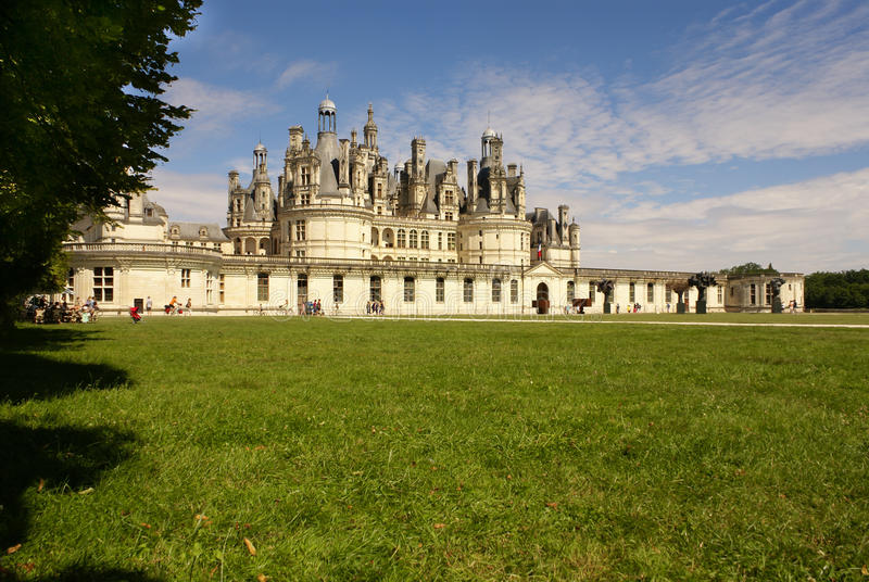 chambord castle is located in loir et cher france it has. Black Bedroom Furniture Sets. Home Design Ideas