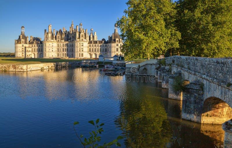 Chambord el Sully-sur-Loira fotografía de archivo libre de regalías