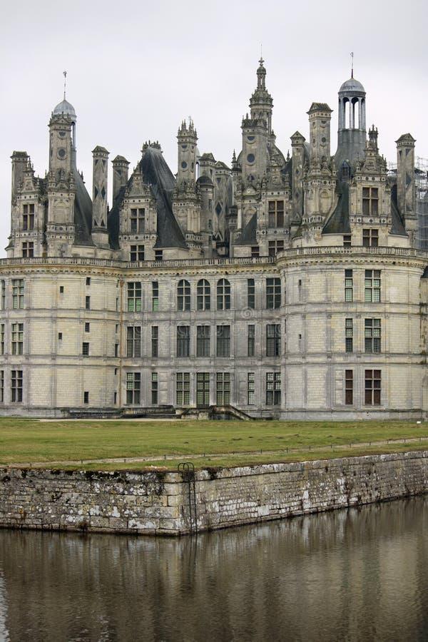 chambord górskiej chaty de France Loire dolina zdjęcie stock