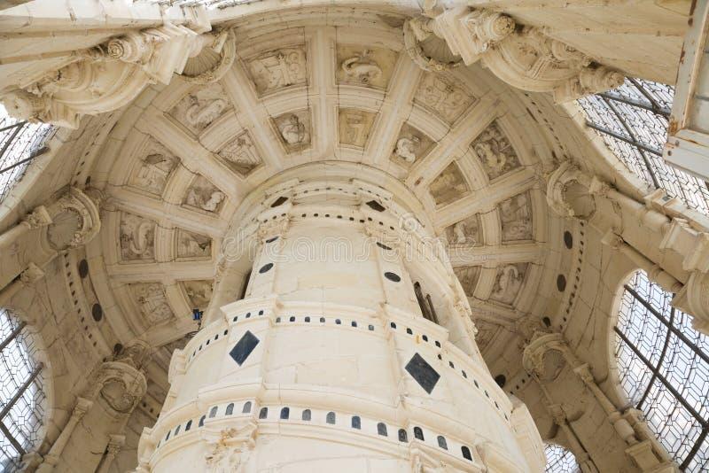 chambord górskiej chaty schody obrazy royalty free