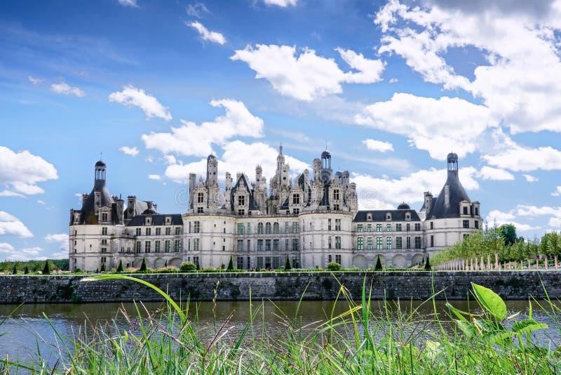 Chambord, Loir et Cher, Francja, 14 2017 Aug, górska chata Chambord T obraz royalty free