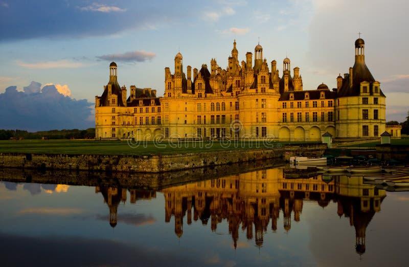 Chambord-Schloss, Loir-et-Cher, Mitte, Frankreich stockbilder