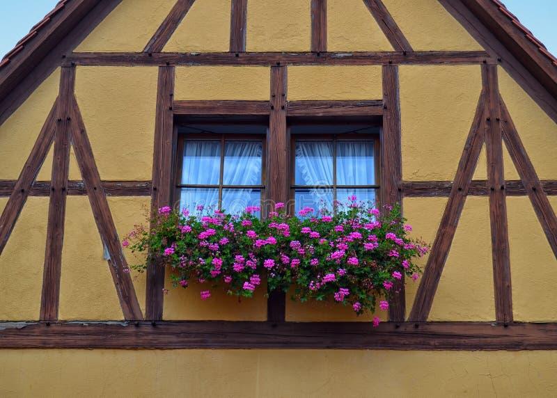 Chambre à colombage magnifique en Allemagne photo libre de droits