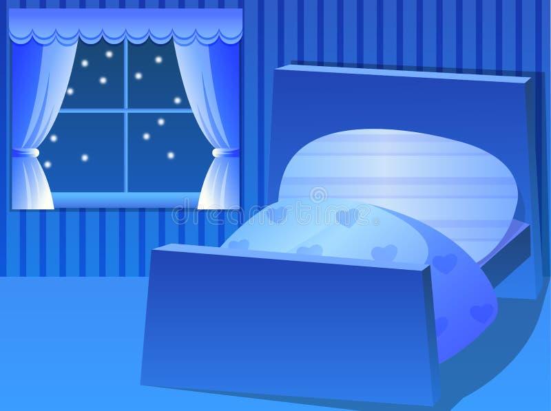 chambre à coucher illustration stock
