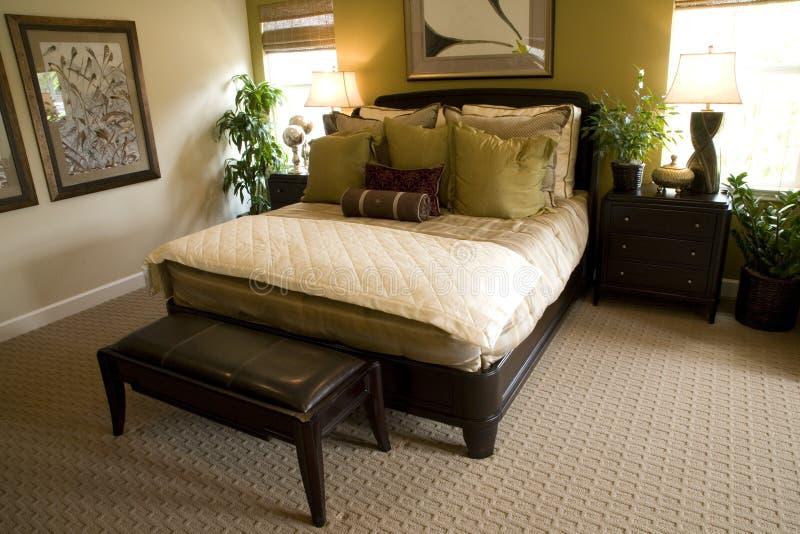 Chambre à coucher 1618_1 images libres de droits