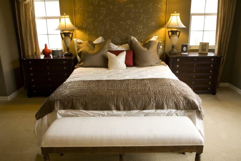 Chambre à coucher 2365 photographie stock libre de droits