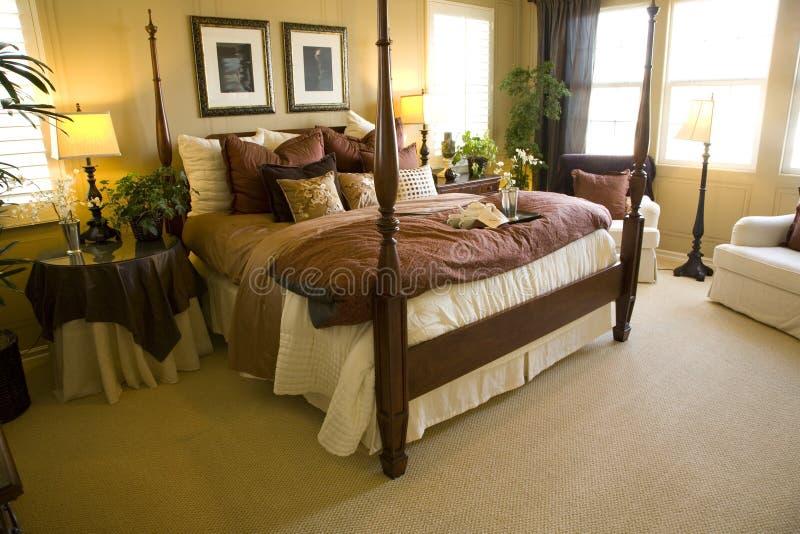 Chambre à coucher 2480 photo stock