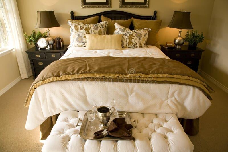 Chambre à coucher 2501 photo libre de droits