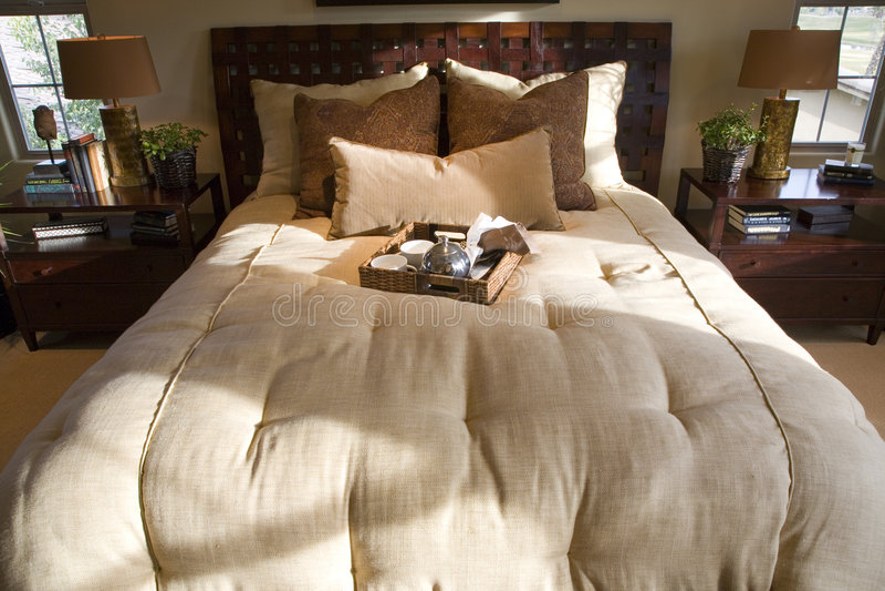 Chambre à coucher 2729 image libre de droits