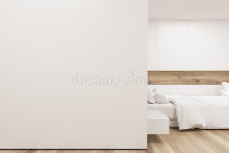 Download Chambre à Coucher Avec La Galerie D'affiche, Mur Blanc, Plan Rapproché Illustration Stock - Illustration du couverture, maison: 87700107