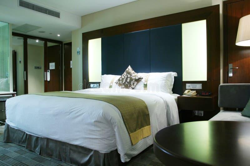Chambre à coucher d'hôtel