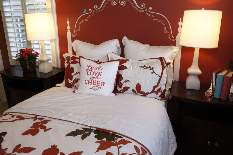 Chambre à coucher de créateur photo libre de droits