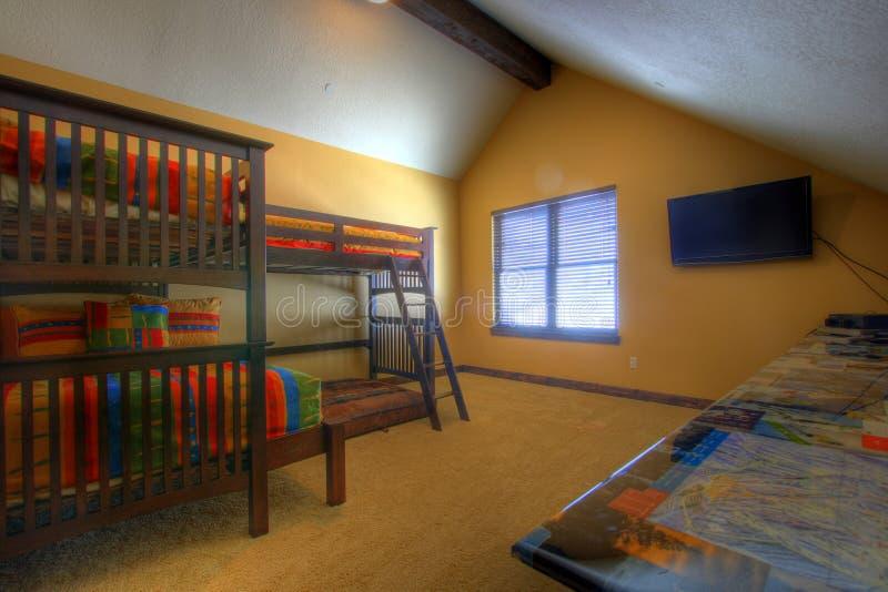 Chambre à coucher de gosses photographie stock
