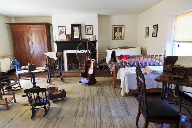 Chambre à coucher de Chambre de McLean photographie stock libre de droits