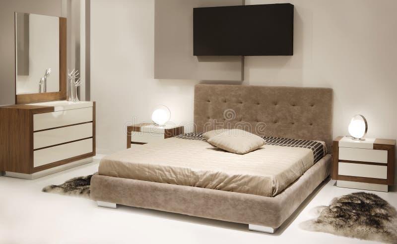 Chambre à coucher moderne image stock. Image du rêve - 23424957