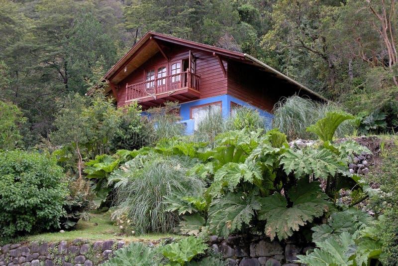 Chambre à la localité de Peulla, Chili photo libre de droits