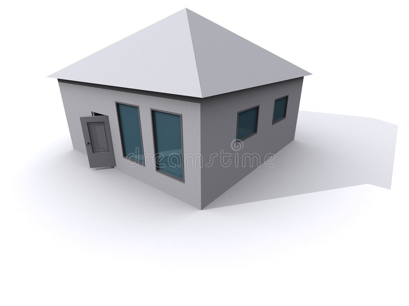 Chambre 3D illustration stock