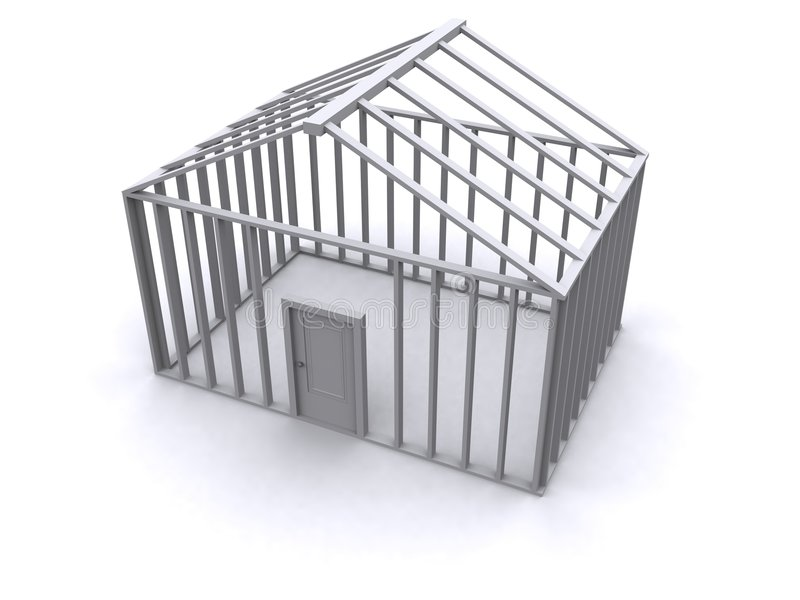Chambre 3D illustration de vecteur