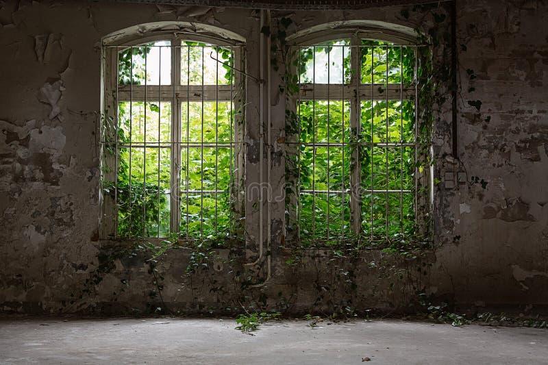 Chambre abandonnée photos libres de droits