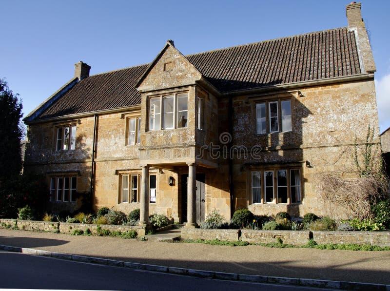 Chambre anglaise de village image stock
