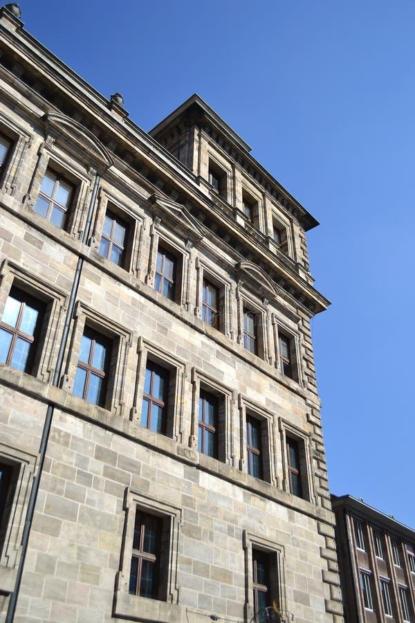 Chambre au centre de Nuremberg photographie stock