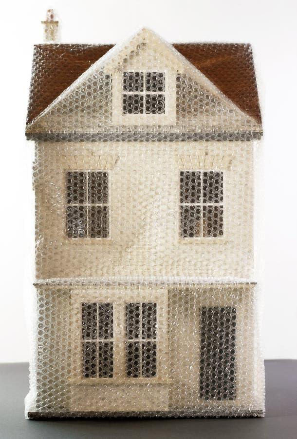Chambre In Bubble Wrap modèle photo libre de droits