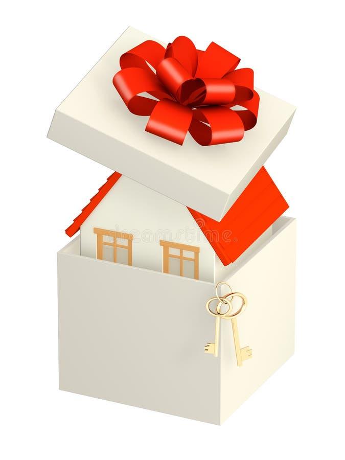 Chambre - cadeau illustration libre de droits
