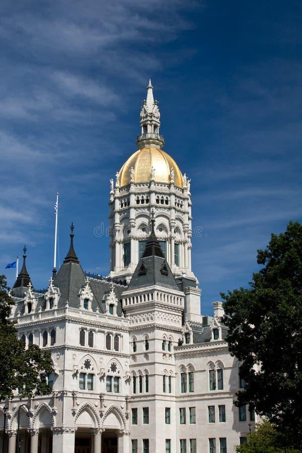 Chambre d'état du Connecticut images libres de droits
